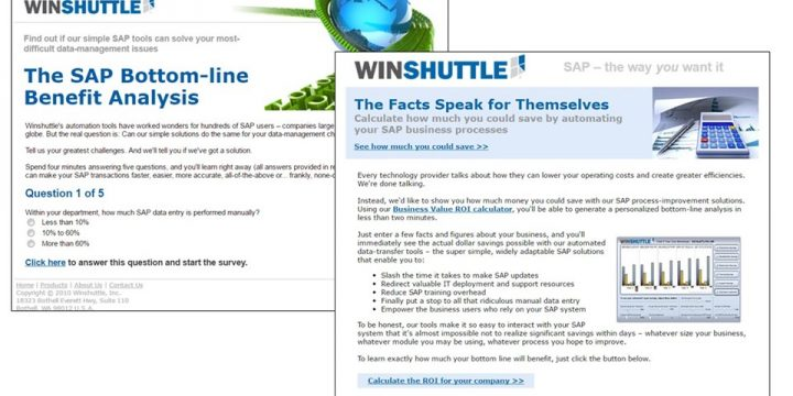 Email Sample – Winshuttle