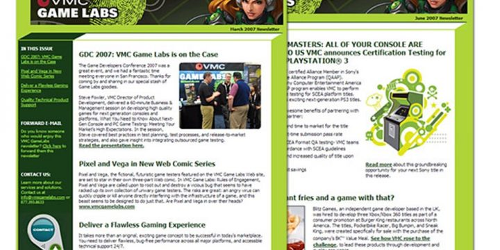 Email Sample VMC Game Labs